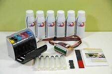 INKXPRO 2000ML Dye Ink Ciss Continuous Ink System for Epson Artisan 1430 1400
