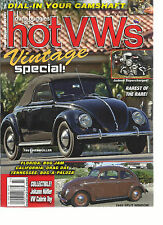 DUNE BUGGIES AND HOT VWS,   JULY, 2016   VINTAGE SPECIAL ( DIAL IN YOUR CAMSHAFT