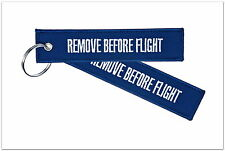 REMOVE BEFORE FLIGHT - Schlüsselanhänger - DARK BLUE - Designed in Berlin, DE