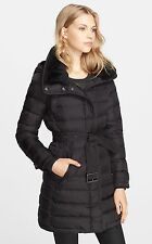 New With Tags Burberry Brit 'Winterleigh' Shearling Down Coat Size S $1295.00