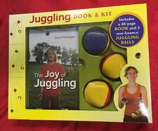 Juggling Kit & 48-Page Book by Dave Finnegan & 3 Non-Bounce Balls NEW