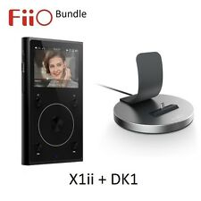 FiiO X1ii 2nd Gen (MP3/FLAC/WAV) Bluetooth Digital Audio Player BLACK + DK1 Dock