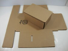 "3 New 7"" x 5"" x 3"" Tuck Top Mailers Shipping Boxes Corrugated Cartons Boxes"