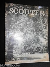 Vintage Boy Scout Association Magazine - The Scouter - July 1962 - Baden Powell