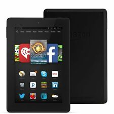 "Amazon Kindle Fire HD 7 8GB, Wi-Fi, 7"" BLACK LATEST 2015 Model SKYPE SOLDOUT"