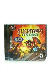 NEW Factory Sealed Alien Front online Game for Sega Dreamcast GAME ONLY NO MIC