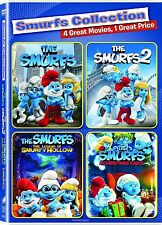 The Smurfs Smurfs 2 Legend of Smurfy Hollow Smurfs Christmas Collection 4 Movies