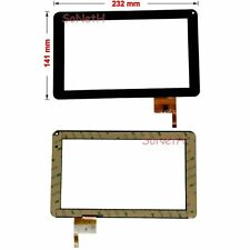 "Vetro Touch screen Digitizer 9,0"" TECHMADE PAD970 PC Tablet Nero"