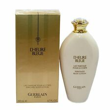 GUERLAIN L'HEURE BLEUE PERFUMED BODY LOTION 200 ML/6.7 FL.OZ. NIB