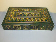 Easton Press WINSTON CHURCHILL THE WAR SPEECHES 1939-45 WWII World Leather Vol 1