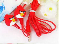 New Cartoon high quality Angry Birds Earphones :D
