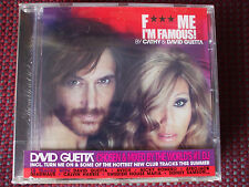 Cathy & David Guetta - F*** Me I'm Famous! CD (Ibiza Mix).BRAND NEW AND SEALED.