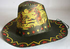 AMAZING RARE VINTAGE 60'S COWBOY HAT LITHO HALLOWEEN CARNIVAL GREECE GREEK NEW !