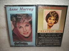 Anne Murray Two Different Cassette Tape Music Lot