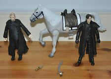 Robin bois guy de Gisbourne shérif de nottingham action figures horse bundle toy