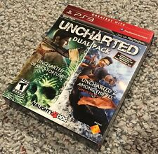 Uncharted Dual Pack PS3 Greatest Hits (Sony PlayStation 3, 2011)