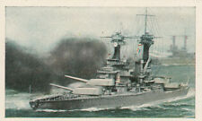 N°132 US Navy Battleship Virginia Cannon World War Germany WWI 30s CHROMO
