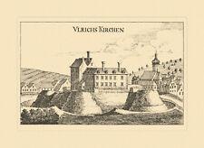 Ulrichskirchen Niederösterreich Vischer Österreich Burgen und Schlösser 451