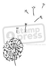 A7 'Dandelion Seeds' Unmounted Rubber Stamp (SP00006284)