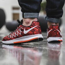 NIKE ZOOM PEGASUS 32 PRINT correr AIR Zapatillas Casual UK 10.5 (UE 45.5) Carmesí