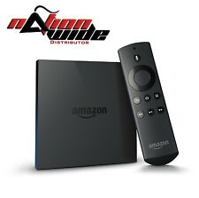 AMAZON FIRE TV BOX 4k JAILBROKEN 16.1 Mobdro With Alexa Voice Remote