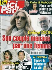 ICI PARIS N° 3559--CELINE DION COUPLE MENACE/LE MARCHAND THURAM DIVORCE/POKORA