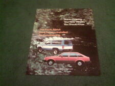 1983 1984 FORD USA FACTORY INSTALLED AIR CONDITIONING BROCHURE Escort Bronco etc