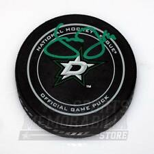 Jamie Benn Dallas Stars Signed Autographed Stars Official Game Hockey Puck - G
