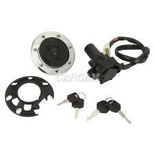 Ignition Switch Lock Fuel Gas Cap Key For Kawasaki ZX9R 94-2003 / ZX7R all year