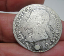 1809 AI (SPAIN) 4 REALES (SILVER) MADRID --- NAPOLEON ---YEAR VERY SCARCE----