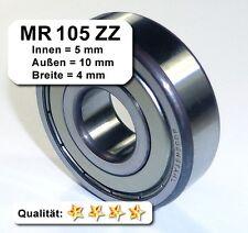 Radiales Rillen-Kugellager MR105ZZ (5x10x4), MR105-2Z