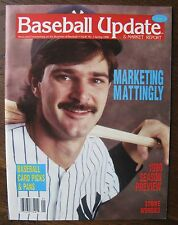 Baseball Update & Market Report DON MATTINGLY COVER STORY Spring 1990 magazine