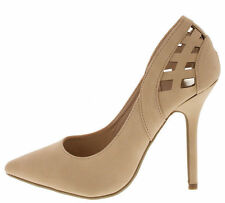 Womens Sexy High Heels Stiletto Pumps Nubuck Classic Pointy Toe Fashion Shoes 9