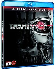 Terminator Quadrilogy Region Free Blu Ray