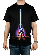 TRON T-Shirt - Movie Poster Shirt - 80's - Sci Fi - NEW - S
