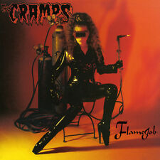 Flame Job by the Cramps (150 gm opaque red vinyl, Drastic Plastic Records)