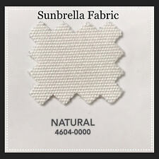 "Sunbrella Marine Fabric 60"" Natural White 6 Yards"