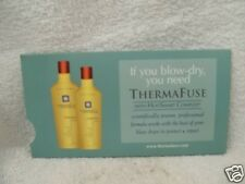 THERMAFUSE VOLUMIZE Shampoo & Conditioner With Heat Smart Complex ~ Sample Pack