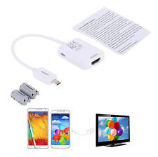 Micro USB MHL 2.0 To HDMI HDTV Adapter Cable for Samsung Galaxy S3 S4 S5 Note