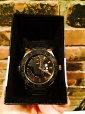 ***NEW IN BOX*** Meister Prodigy PRS102 Black Rose Gold Wrist Watch