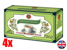 SENNA TEA 4 BOXES Natural Product Weight Loss Colon Cleansing Laxative Detox UK
