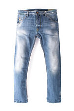 RRP €204 DIESEL W29 L34 Men's KRAYVER 0826D Faded Carrot Fit Jeans - From POPPRI