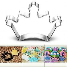 Crown Stainless Steel Cookie Cutter Mold Sugarcraft DIY Cake Decorating Mould