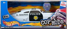 Hot Wheels Cop Rods Police Cruiser '49 Merc 1:24 Scale Mint In Box New