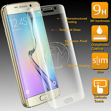 Shatter Proof Tempered Film LCD Saver HD Touch 2.5D For Samsung S6 Edge - 9H