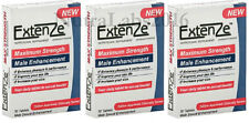 Extenze Maximum Strength - 90 Pills - 3x 30 ct Boxes - Male Enhancement Pill