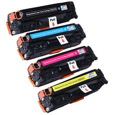 4 PK NON-OEM TONER CARTRIDGE SET HP 305A 305X CE410X CE411A CE412A CE413A CE410A