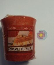YANKEE CANDLE CARAMEL PECAN PIE VOTIVE HUNDREDS LISTED RARE AND AWESOME