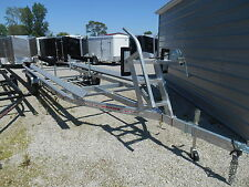 NEW 24' BUNK PONTOON TRAILER * GALVANIZED * WINTER BLOWOUT SALE* ACT FAST * DR