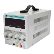 30V 10A EU 220V DC Power Supply|Precision Variable|Digital W/Clip Cord|Lab Grade